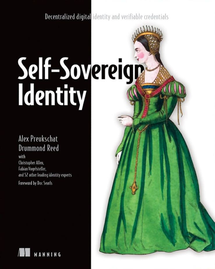 The front cover of the Self-Sovereign Identity book